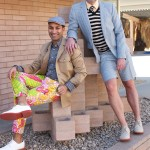 Canadian style experts and media personalities the Style Guys visit Palm Springs and indulge in some shopping at Mr. Turk.